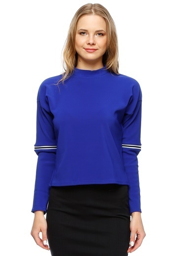 Endless Rose Sweatshirt Mavi